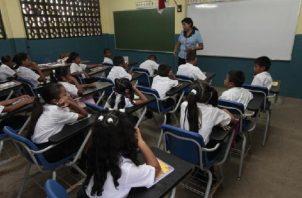 """Para el ministro de Educación este programa ha crecido """"a pasos agigantados"""", dejando """"resultados positivos"""" en los cuatro años que lleva el Gobierno. Foto: Panamá América"""