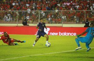 Panamá cayó 2-0 ante Bermudas el pasado 8 de septiembre,  lo que se reflejó en el ranking de la Fifa. Foto Anayansi Gamez