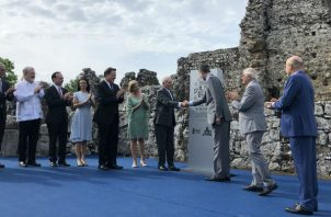 Rey de España en Panamá. Foto/Cortesía