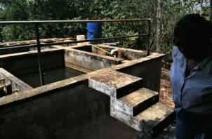 La plata potabilizadora de Cerro Cama, tiene una capacidad de producción de 180 galones de agua por minuto.