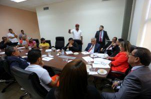 Trabajadores de Panama Port Company sigue en huelga. Foto/Cortesía