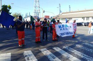La huelga de los trabajadores portuarios se realizó del 17 al 29 de julio. Foto/Archivo