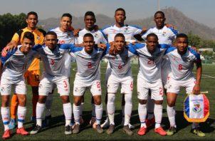 Selección sub17 de Panamá. Foto Fepafut
