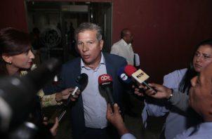 """José Luis """"Popi"""" Varela, presidente del Partido Panameñista."""