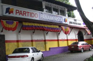 En las pasadas elecciones el Partido Panameñista finalizó en la cuarta posición. Foto: Archivo