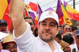 Mario Etchelecu está pidiendo un informe de cómo se gastó el dinero de la campaña José Blandón.