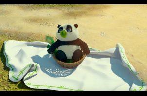 """""""Un panda en apuros""""."""