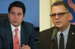 Mario Pérez y Camilo Amado.