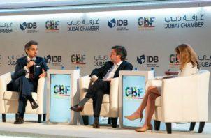 Panelistas invitados al Global Business Forum Latin America. Foto: Cortesía
