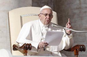 """Francisco, le ha pedido a los medios de comunicación en especial que se protejan contra las """"noticias falsas"""" . FOTO/EFE"""