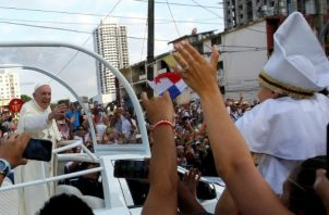 """Francisco  consideró que Panamá es """"una nación noble""""."""
