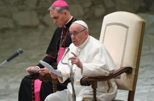 El papa Francisco llega a Panamá el próximo miércoles.
