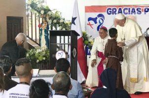 Papa Francisco pidió por Venezuela. Foto/Cortesía