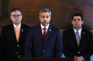 """Paraguay se adhirió a primeros de este mes a los otros doce países del Grupo de Lima que acordaron no reconocer el """"resultado de un proceso electoral ilegítimo""""."""