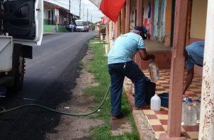 Este año las comunidades de Parita se han quedado sin el vital líquido. Foto/Thays Domínguez