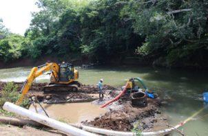 Pariteños, en la provincia de Herrera, se han acostumbrado a no tener agua en sus hogares.
