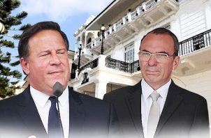 Juan Carlos Varela fue cuestionado por el pago de cirugía a Rolando López. Archivo