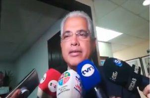 José Blandón, excandidato presidencial del Partido Panameñista.