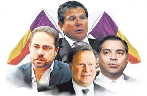 Miembros del directorio del Partido Panameñista.