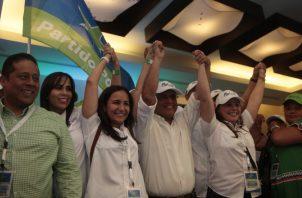 La facción joven del Partido Popular impulsó el apoyo a José Blandón Figueroa. /Foto Víctor Arosemena