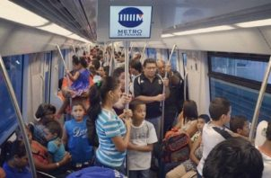 Recomiendan no usar la tarjeta del metro para viajes en grupo. Foto: Metro de Panamá