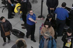 El sistema de viajes se ha visto afectado por el cierre parcial del gobierno de EE.UU. FOTO/AP