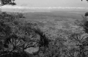 Cerro Pechito Para'o en Darién, desde donde Vasco Núñez de Balboa divisó el Mar del Sur, el 25 de septiembre de 1513. Foto: Archivo.