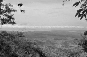 Cerro Pechito Para'o, donde Balboa ojeó la majestuosidad del Mar del Sur hará 505 años.