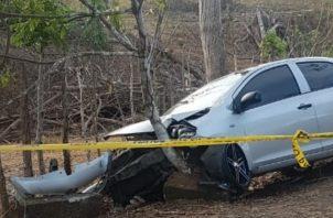 La víctima fue identificada como Romelia Rodríguez de Samaniego, de 76 años de edad, y residente en La Chorrera. Foto/Cortesía