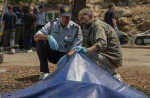 """Una escena de la serie """"Our Boys"""", que dramatiza el asesinato en el 2014 de Muhammad Abu Khdeir. Foto/ Ran Mendelson/HBO."""