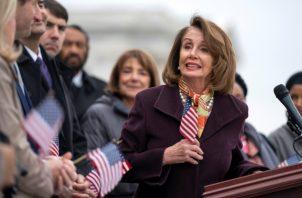 La presidenta de la Cámara de Representantes Nancy Pelosi, hizo una serie de comentarios en  The Washington Post. FOTO/AP
