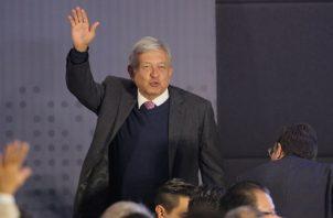 El presidente electo de México Andrés Manuel López Obrador, defiende su plan de seguridad. FOTO/EFE