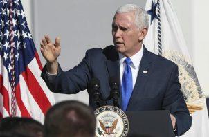 El vicepresidente de Estados Unidos, Mike Pence, Pence, anunció la creación de un comando militar unificado para el espacio de los EE. UU.