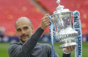 Guardiola. Foto:AP