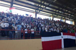 Grupo de peregrinos que participaron en la pre Jornada de la Juventud en Chiriquí. Foto/José Vásquez