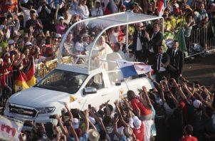 Hubo más turistas que peregrinos para la Jornada Mundial de la Juventud y la visita del papa Francisco, que culminó el domingo. Archivo