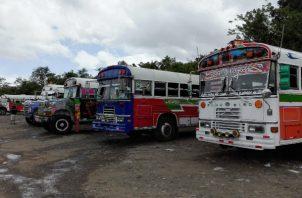 Gobierno no ha dado respuesta a los transportistas. Foto: Eric A. Montenegro.
