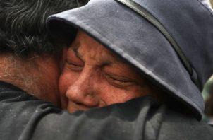 Naky Soto, la esposa del periodista hispanovenezolano Luis Carlos Díaz, pide que lo libere. FOTO/EFE