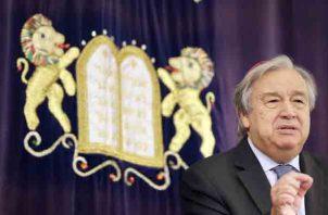 """""""Estoy profundamente preocupado por el creciente número de ataques y la cultura de impunidad"""", insistió, António Guterres. FOTO/AP"""