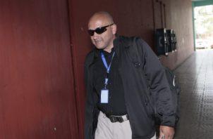 El perito  Luis Rivera Calles fue el que reveló sobre el correo enviado por la periodista Siria Miranda.