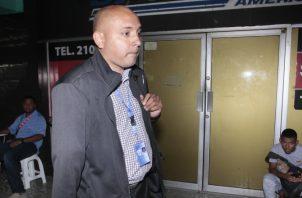 Luis Enrique Rivera Calles, testigo de la fiscalía.