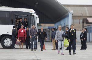 Entre abril y mayo fueron expulsados otros 100 venezolanos con antecedentes. FOTO/EFE