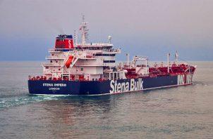 Petrolero Stena Impero capturado por la Guardia Revolucionaria iraní. Foto: EFE.