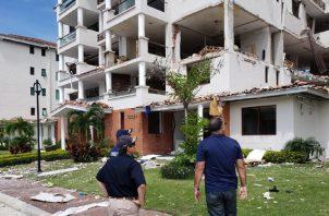 La familia afectada se mudó el día que ocurrió la deflagración en el PH Costa Mare. Foto: Archivo.