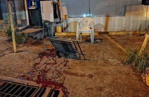 El incidente ocurrió el tiroteo ocurrido la noche del 17 de junio, en una piquera de buses alternativo en La Chorrera.