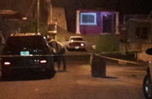 El incidente se registró en la calle Amistad, vía principal. Foto: Diómedes Sánchez S.