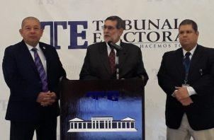 El anuncio fue realizado por el director de Organización Electoral. Foto de Víctor Arosemena