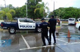 La captura del menor de edad, pro parte de la Policía Nacional se registró en el sector de Juan Díaz.