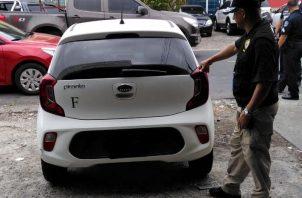 Policía Nacional recupera cuatro autos adquiridos de manera ilegal.
