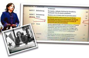 La gestión de la procuradora Kenia Porcell ha estado plagada de denuncias de irregularidades.
